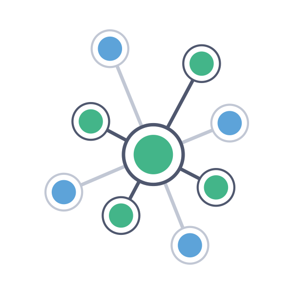 Connected nodes