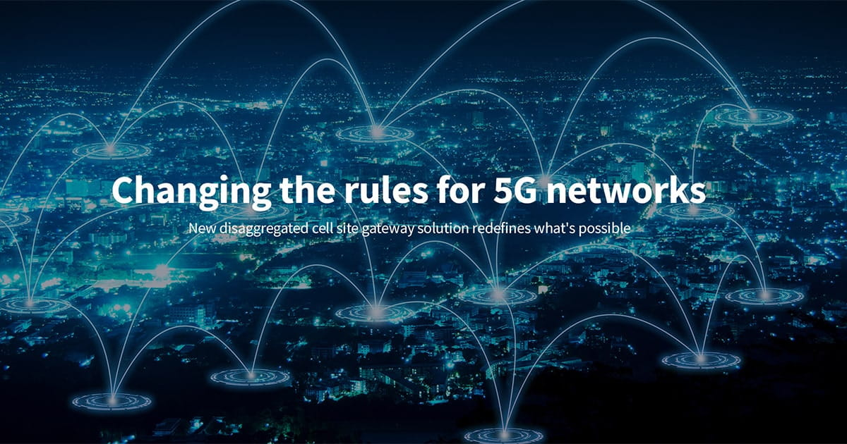 Changing the rules for 5G networks