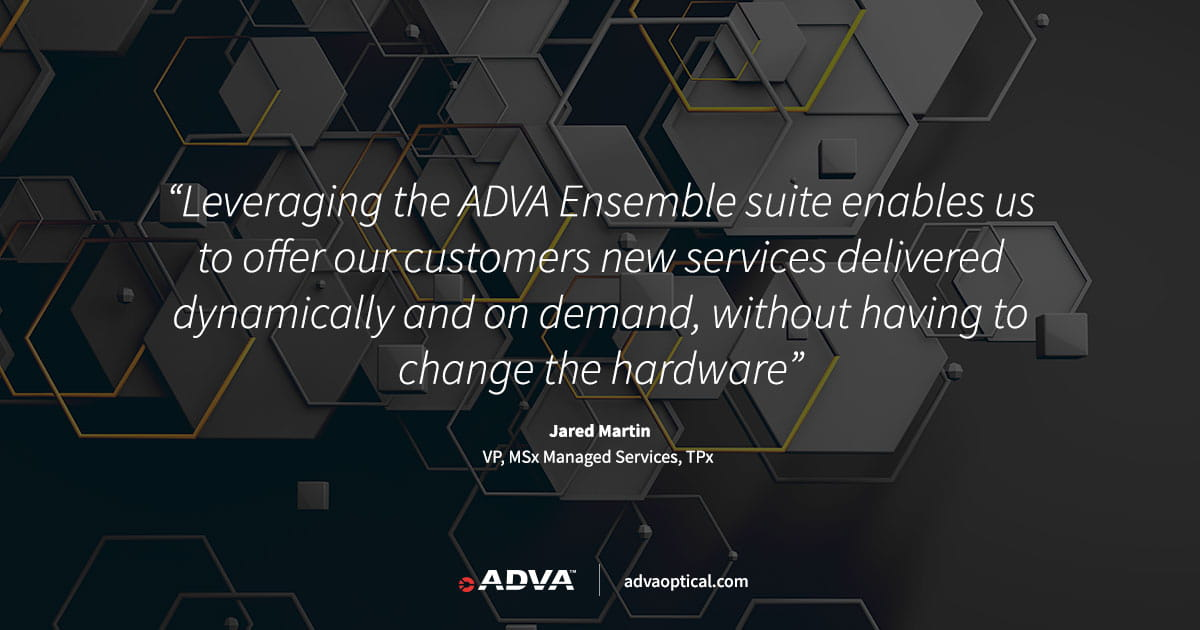 TPx selects ADVA for edge device innovation