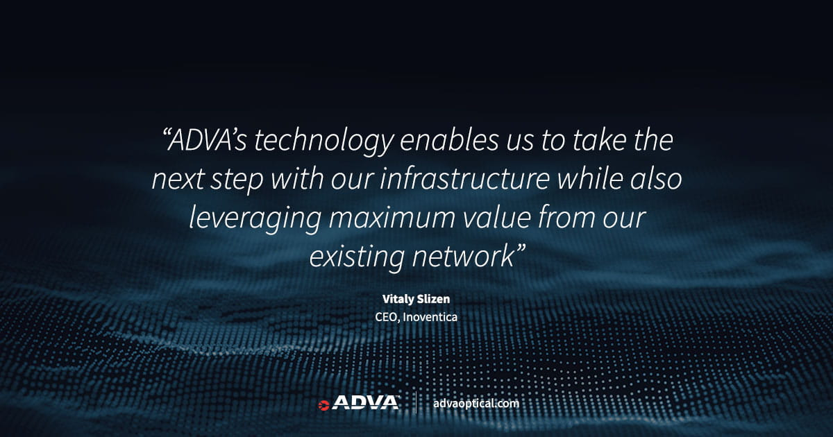 Russia's largest cloud service provider deploys ADVA FSP 3000 to answer fierce data growth