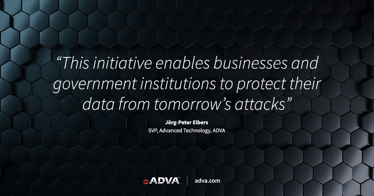 ADVA brings post-quantum security to packet networks