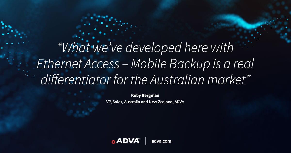 Telstra Wholesale nutzt ADVA-Technologie für einzigartigen Ethernet-Dienst in Australien