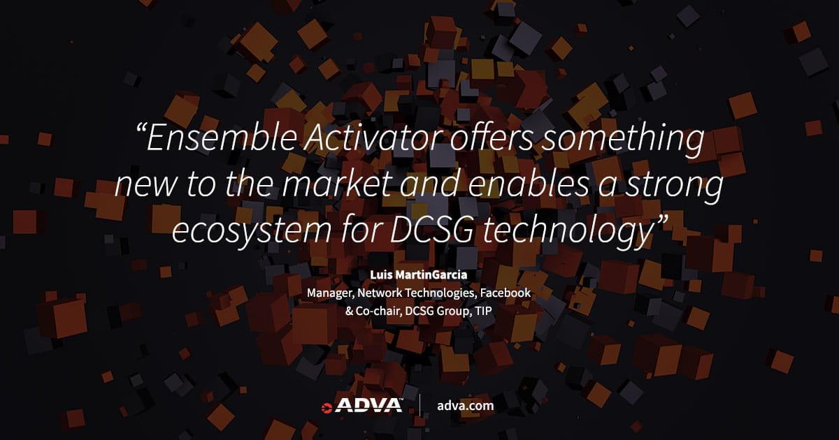 ADVA announces general availability of market's most versatile DCSG operating system