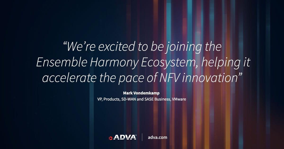 ADVA erweitert sein führendes, herstellerunabhängiges NFV-Programm