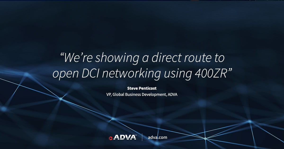 ADVA showcases 400ZR DCI solution with Acacia and Inphi