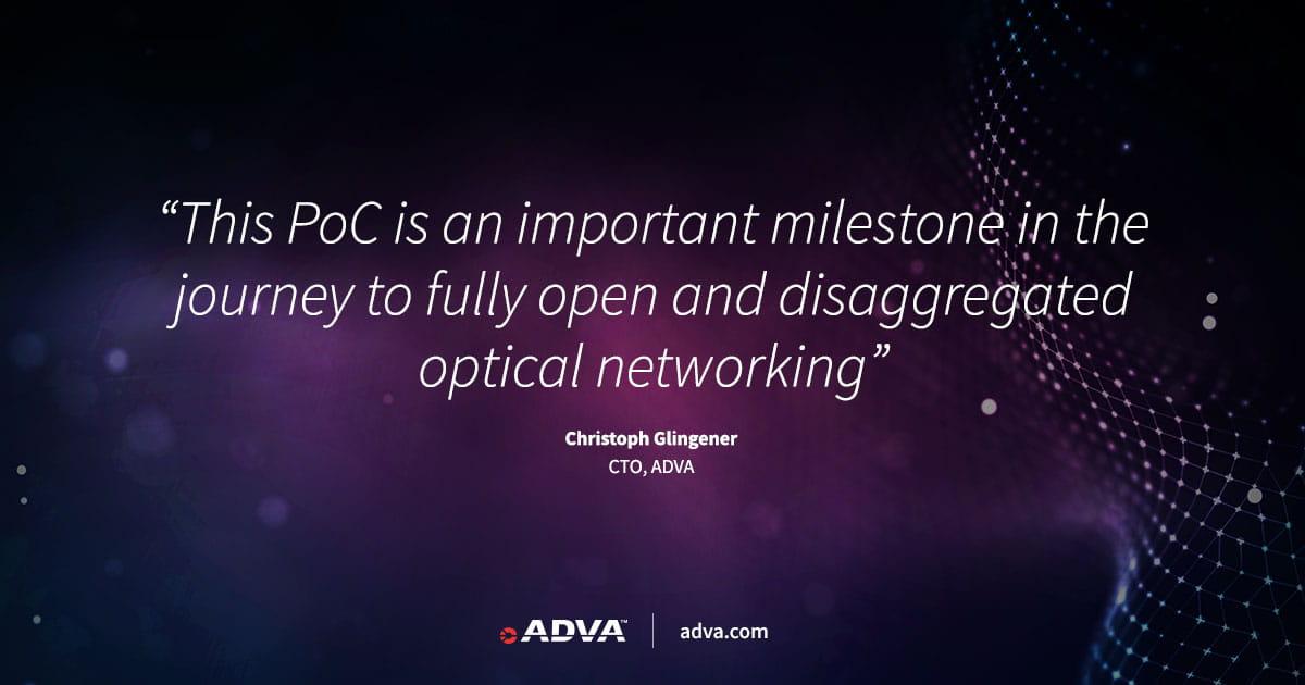 TIP verwendet ADVA Technologie bei erfolgreicher Erprobung eines offenen optischen Ende-zu-Ende-Netzes