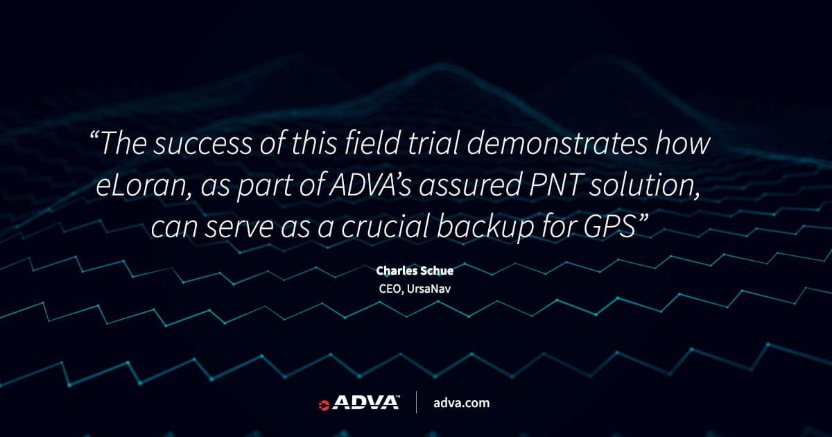 UrsaNav trials eLoran as vital GNSS backup using ADVA's grandmaster clock solution