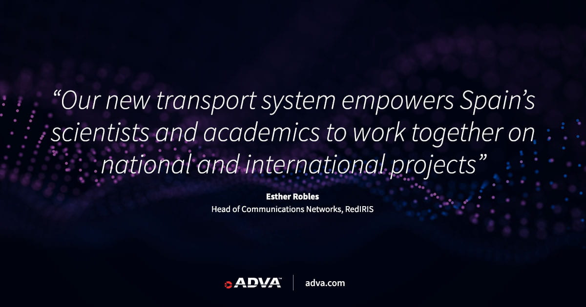 RedIRIS taps ADVA and SIA to upgrade national research network