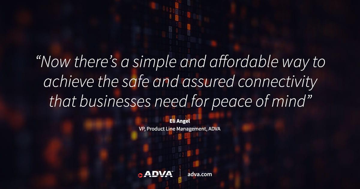 ADVA verbessert Premium-10G-Netzabschlusstechnik mit sicherer Verschlüsselung