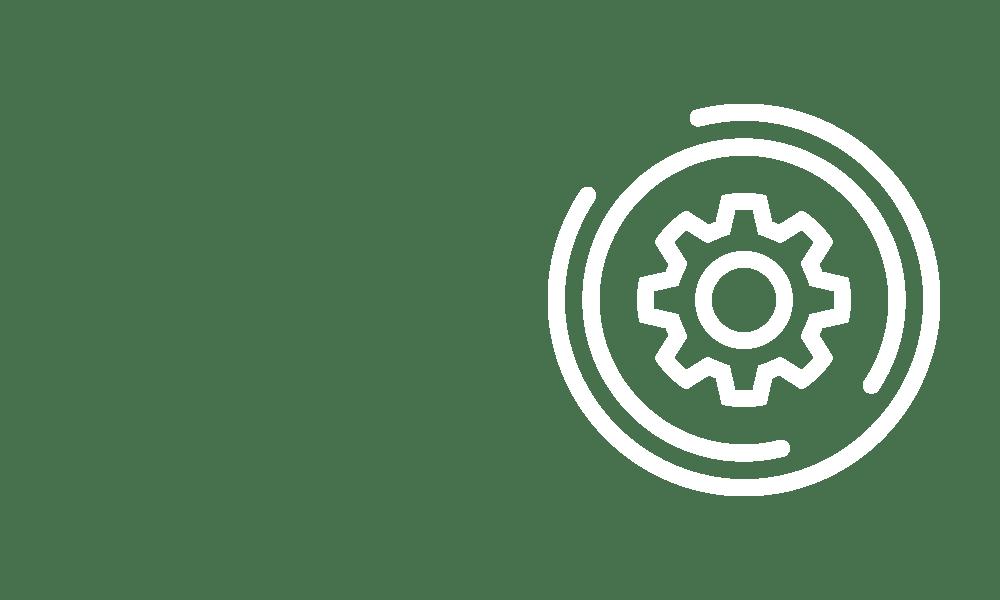 Cog in circle