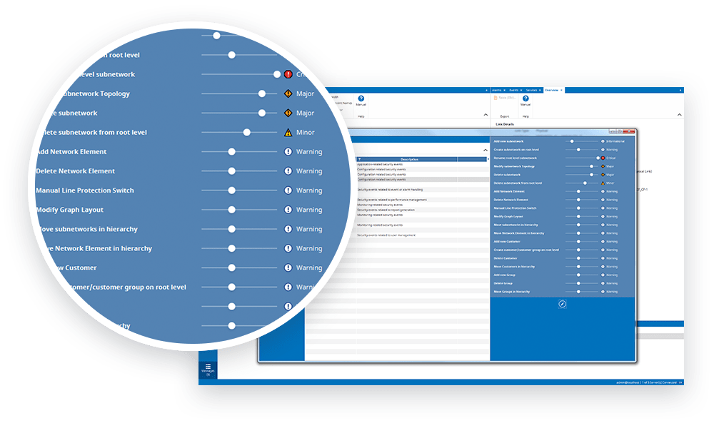 FSP Network Manager UI