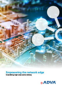 Empowering the network edge cover