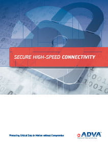 Secure Data Transmission application brochure cover