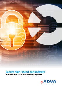 Secure high-speed connectivity cover