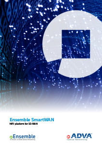 Ensemble SmartWAN application brochure cover