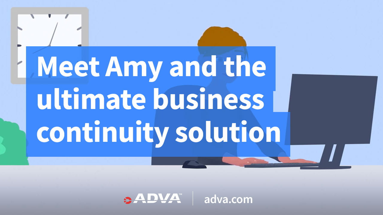 Meet Amy and the ultimate business continuity solution
