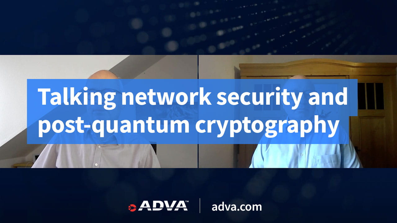 Talking network security and post-quantum cryptography